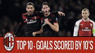 Top 10 Goals Scored by Number 10's streaming