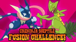 POKEMON FUSION | Greninja and Sceptile