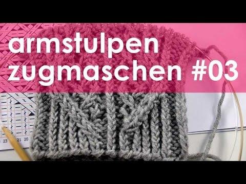 nadelspiel StriMiMi Jänner 2016 * Zugmaschen * Mütze, Armstulpen, Socken * Teil 3