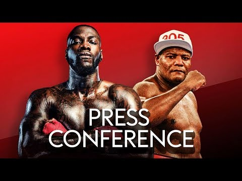 DEONTAY WILDER VS LUIS ORTIZ 🥊 | LIVE PRESS CONFERENCE!