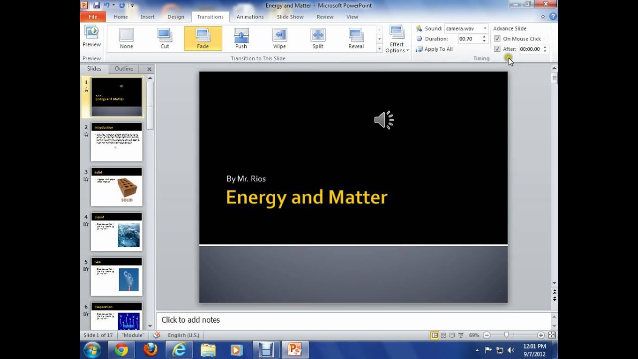 Make a PowerPoint Presentation Play Automatically
