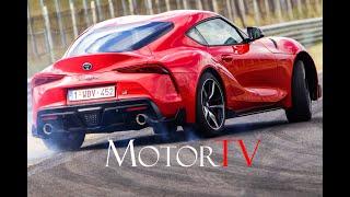 FlashNews: 2021 #Toyota Supra 2.0 2-0 4 CYL 285 Hp & Supra Pure ▶ Highlights [GER-Eng Sub]