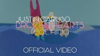 Смотреть клип Justin Caruso Ft. Hilda - Broken Hearts