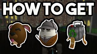 HOW TO GET THE INVESTEGGATOR, DOGGO, AND GARBAGE EGGS! | ROBLOX: 2018 Egg Hunt