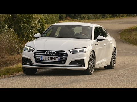 audi a5 2017 test drive funnydog tv. Black Bedroom Furniture Sets. Home Design Ideas