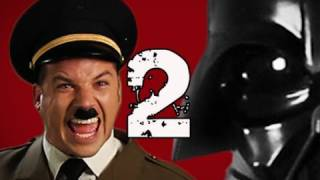 Repeat youtube video Hitler vs Vader 2.  Epic Rap Battles of History Season 2.