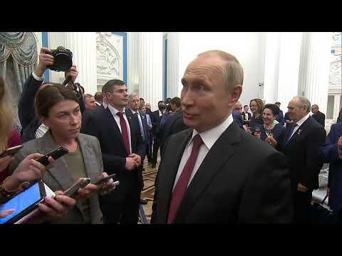 Путин прокомментировал заявление Зеленского об украинских паспортах для россиян