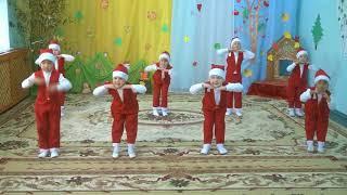 """Новоселезневский детский сад """"Ивушка"""" танец Гномики"""