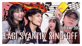 Download lagu REAKSI K-POP VOCAL TRAINER  REZA VS SALMA LAGI SYANTIK SING-OFF [SUB : IDN, KOR]
