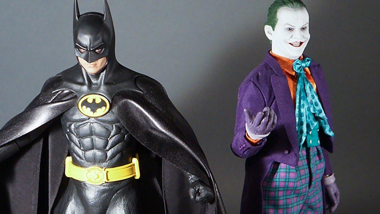 Custom Cape Mods For Hot Toys DX09 Batman Michael Keaton Figure Tony ...