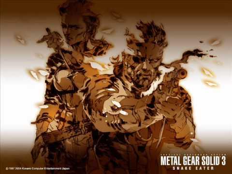 Metal Gear Solid 3 Soundtrack - Snake Eater (Instrumental)