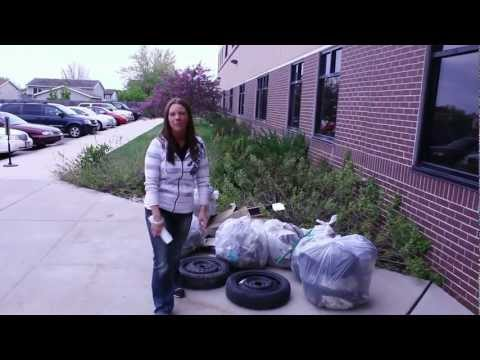 A Litter Bit better! Clean up at Minnesota School of Business Rochester