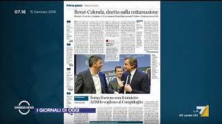 Omnibus News (Puntata 15/01/2018)
