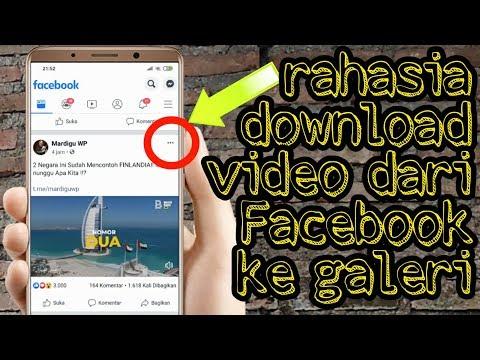Cara Download Video Dari Fb Ke Galeri Youtube