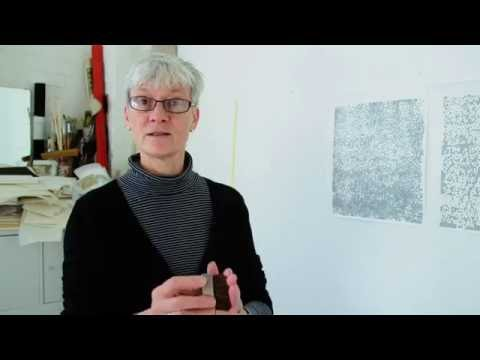 Japanese woodblock printing with Rebecca Salter RA
