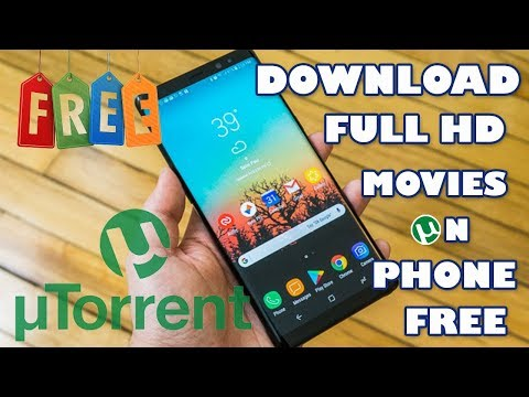 HOW TO DOWNLOAD HD MOVIES/TORRENTS BY uTORRENT ON ANY ANDROID/iOS DEVICE (2018 EDITION)  ???