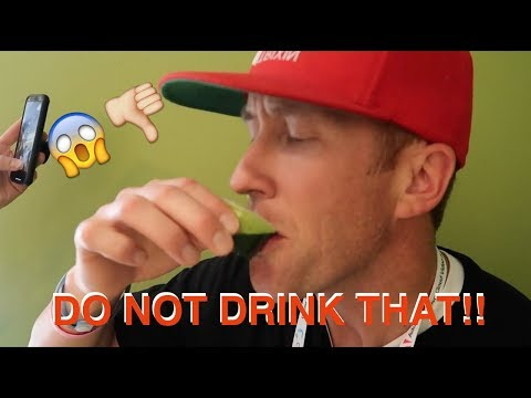 Do NOT drink that!