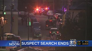 Gunman Shoots At Oakland Police Officer; Search Called Off