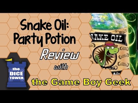 Snake Oil Party Potion Review - With The Game Boy Geek