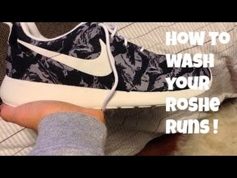 Tutorial: How to clean your Roshe Runs !