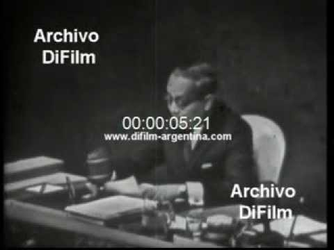 DiFilm - Speech Sithu U Thant in United Nations 1967