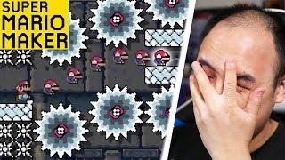 NIVEAU MÉGA STRESSANT ! | Super Mario Maker