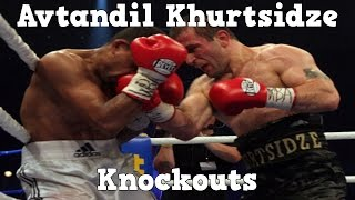 Avtandil Khurtsidze - Highlights / Knockouts