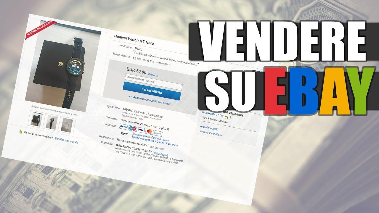 Come Vendere Su Ebay Vendita Usato 2k60fps Youtube