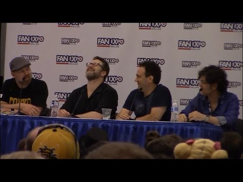 Funny DBZ Panel with Sean Schemmel, Chris Sabat, Eric Vale and Mike McFarland  Expo Dallas 2016
