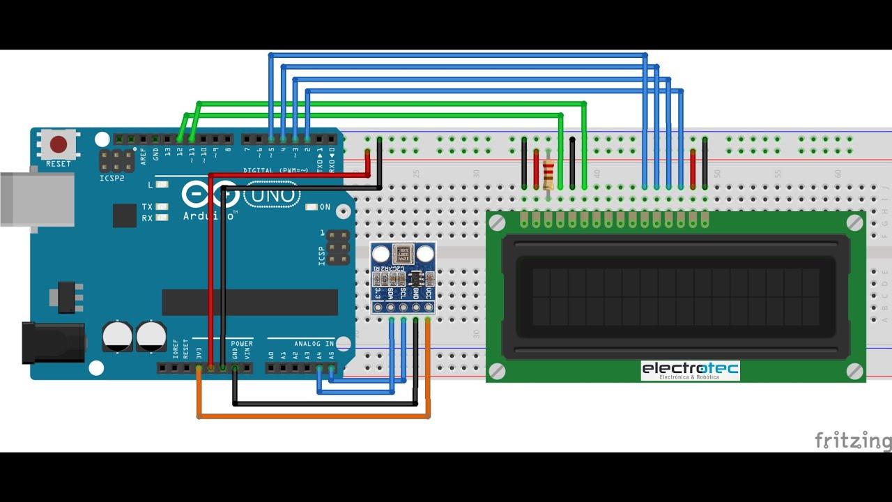 Sensor De Presin Atmosferica 180 Youtube Circuito Thermistor Arduino