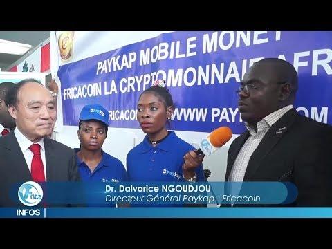 PayKap Fricacoin présent à la conférence sur l'économie numérique à Yaoundé, Cameroun