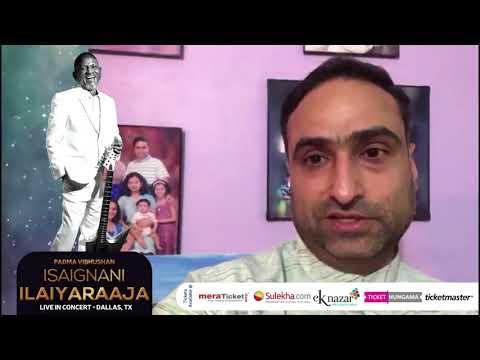 Sudhir Pai , CEO MyTaxFiler Invites DFW audience to Ilaiyaraaja Live In Concert Dallas 2018