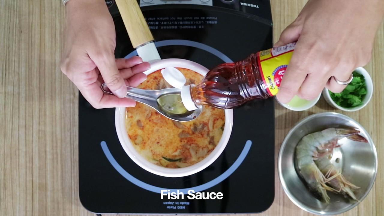 Tom Yum Goong Recipe by Faa - YouTube