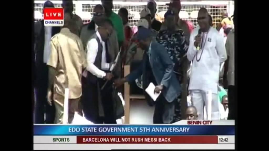 Download Obahiagbon Gives Oshiohmole Hilarious Introduction