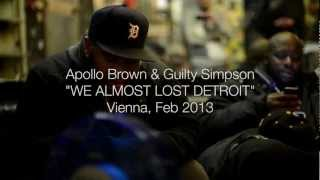 Apollo Brown & Guilty Simpson - We Almost Lost Detroit