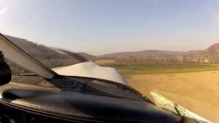Flight To Brokenstraw & Jamestown 10-26-12 N2806m