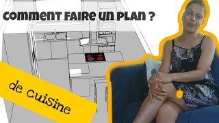 Comment Faire Un Plan De Cuisine Exemples De Dessin Cuisine En Plan Et Modele 3d Youtube