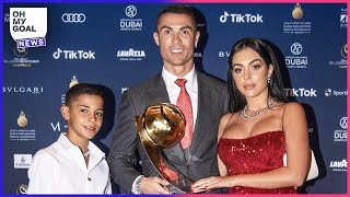 What Cristiano Ronaldo said to his son shows just how strict he is as a father   Oh My Goal