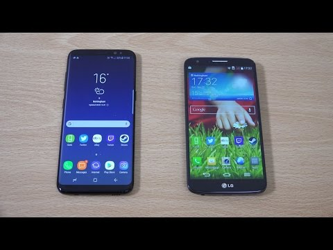 Samsung Galaxy S8 vs LG G2 - Speed Test!