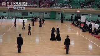 YAMANASHI vs KUMAMOTO 10th All Japan Interprefecture Ladies KENDO Championship 2018 3rd Round