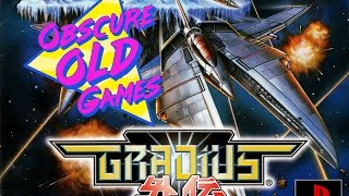 Obscure Old Games: Gradius Gaiden