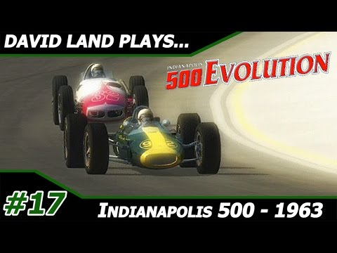 1963 Indianapolis 500 - David Land Plays: Indianapolis 500 Evolution Career Mode