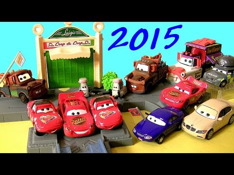 NEW Diecasts Cars June 2015 Mater with Sign, Christina Wheeland, Determined McQueen DisneyPixarCars