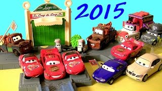 12 Diecast Cars toys Mater with Sign Mia Tia