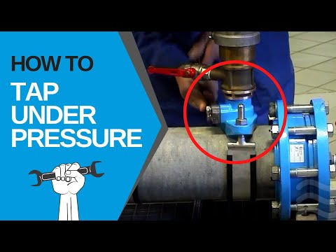 UNDER PRESSURE TAPPING [Hawle House Connections] | EN