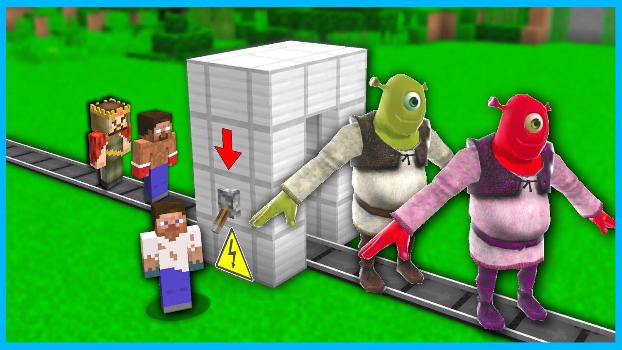 SHREK TEPEGÖZLER ÜRETTİK! 😱 - Minecraft