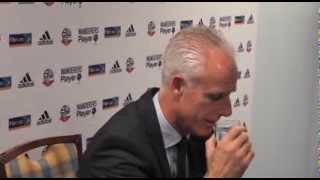 Must see Mick McCarthy reaction to question!