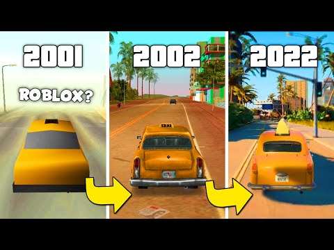 How GTA Vice City Changed Over The Years 2001-2020