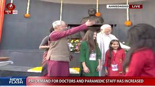PM Modi unveils statue of Dr Vikram Sarabhai, the father of Indian space programme