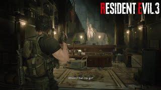 Resident Evil 3 Remake R.P.D Carlos Playthrough!